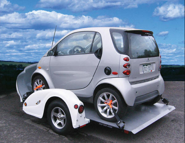 Smart Car Trailers Smart Fortwo Trailers Small Car Hauler Trailers