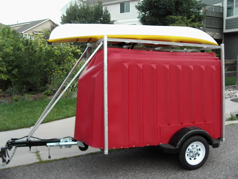 Yuppie Wagon Enclosed Trailers Home Page
